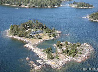 Private island Sweden